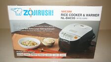 New Zojirushi NL-BAC05-SB Induction Heating System Rice Cooker 3 Cup (Uncooked)