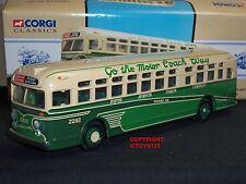 CORGI 98604 GM4507 FIFTH AVENUE PENNA STATION AMERICAN DIECAST MODEL COACH BUS