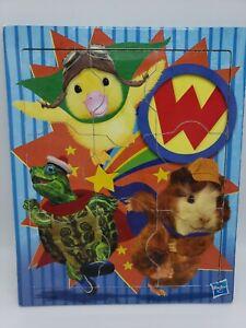 WONDER PETS Board Puzzle Wood Framed 9pc Linny Tuck Ming Ming Hasbro RARE