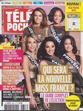 Télépoche 12/2016  - Miss France 2017 -   Michel Delpech