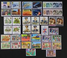 GB GREAT BRITAIN 1986 Complete Commemorative Year, 10 sets, 39 stamps Mint NH