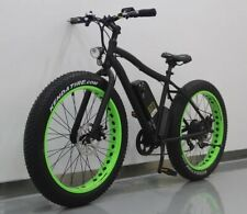 "Our Fabulous Mountain Fat Tyre E bike - 26"" 750w/48v Motor"