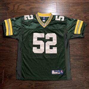 Clay Matthews #52 Green Bay Packers NFL Football Jersey Mens Size 48 Reebok Sewn