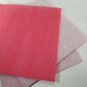 "30 Pink Overspray Media Pads Case 20"" x20"" Aquarium Filters Pre-cut Koi Pond Lot"