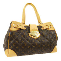 LOUIS VUITTON SHOPPER SHOULDER TOTE BAG MONOGRAM ETOILE M41433 TH0029 03137