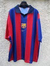 Maillot BARCELONE BARCELONA 2002 vintage camiseta shirt NIKE jersey XL