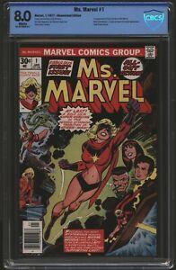 Ms. Marvel #1  CBCS 8.0   March 1977  Not CGC
