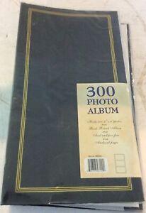 "300 PHOTO ALBUM ,HOLD 300 4""X 6"" PHOTOS GREEN"