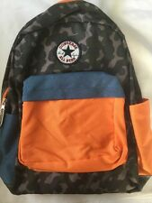 Converse All-Star Backpack Camouflage NWT Camo Orange Blue  Chuck Taylor