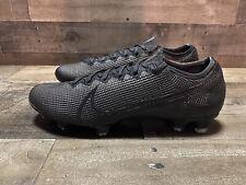 Nike Mercurial Vapor 13 Elite FG Cleats Soccer Black AQ4176-001 Men's Size 12