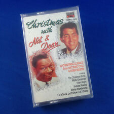 NAT KING COLE & DEAN MARTIN: Christmas With Nat & Dean (RARE 1990 CASSETTE OOP)