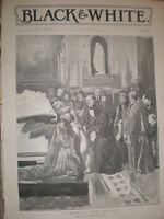 In memory of Prince Albert the Good Queen Victoria 1896 old print Ref S