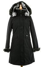 Woolrich John Rich & Bros. Women's Long Arctic Parka Black Size Medium WF1012