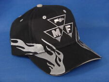 Massey Ferguson Tractor Hat - Black/Gray Flame - Low Crown - Triangle Logo