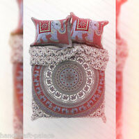 Hippie Indian Urban Mandala Elephant Bedspread Tapestry Queen Wall Hanging Throw