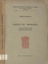 Saggi su Spinoza