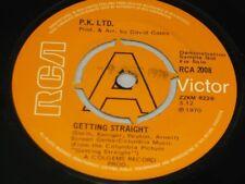 "P.K. LTD:   Getting Straight   DEMO   EX   7"""