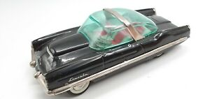 Tin Toy  Yonezawa Friction Lincoln XL-500 Sundeck Convertible in Black
