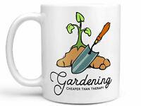 Gardening Cheaper Than Therapy Coffee Mug Or Coffee Cup Gardening Mug Gardening