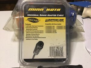 Minn Kota Universal Sonar Adapter Cable-MKR-US-3 For Bottomline Tournament Units