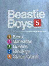 Beastie Boys To The 5 Boroughs T Shirt Men's 2Xl Subway Design Rare