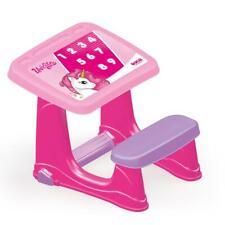 Dolu Licorne Smart Kids Toddler filles Étude Bureau Table et Chaise Ensemble Rose 2 an +