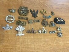 More details for nice mixed lot of military badges lot 3