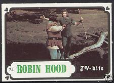 Monty Gum Card - 1986 TV Hits - Robin Hood - Card No 74