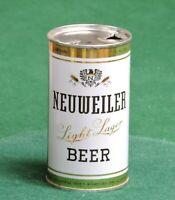 NEUWEILER BEER, LOUIS F. NEUWEILER'S SONS, ALLENTOWN, PA. FLAT TOP CAN # 103-4