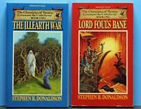 Lord Fouls Bane - The Illearth War  1st Edition Stephen R. Donaldson SIGNED!