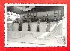 """CASABLANCA PHOTO """" SERVICE MILITAIRE / MUSIQUE """" 1949"""