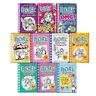 Dork Diaries Collection 10 Children's Books Collection(Party Time, Pop Star)New