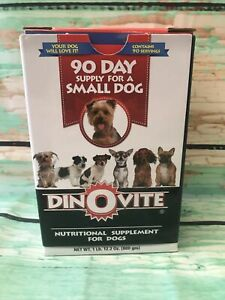 Dinovite For A Small Dog Nutritional Supplement 90 Day Supply - 1lb Box