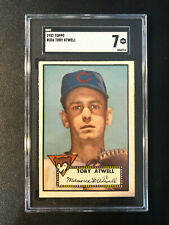 1952 Topps #356 Toby Atwell Cubs SGC 7 High Number PSA Set Break