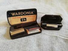 TWO VINTAGE RAZORS WARDONIA & WITH BLADES IN ORIGINAL BOXES