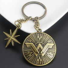 Wonder Woman Shield Pewter Key Ring Key Chain Wonder Woman Justice League Movie
