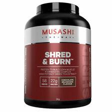 Musashi Shred & Burn Chocolate Milkshake Protein Powder - 2kg