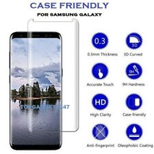 100 Genuine 3d Full Tempered Glass Screen Protector Film for Samsung S7 Edge