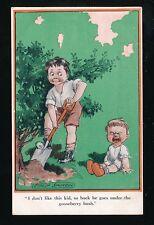 Artist FRED SPURGIN Children Baby Comic Kiddoo Inter-Art #379 PPC Unused