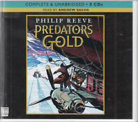 Philip Reeve Predator's Gold 8CD Audio Book Unabridged Mortal Engines 2 FASTPOST