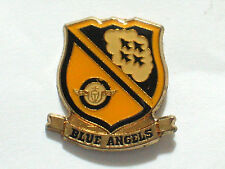 Blue Angels Shield Airplane Pin