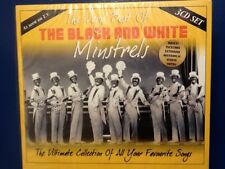 THE. BLACK AND. WHITE. MINSTRELS.       VERY. BEST.    THREE. DISC BOXSET