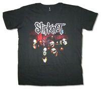 Slipknot Squad Mens Black T Shirt New Official Adult