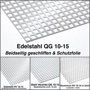Lochblech Blech Fenstergitter Edelstahl Alu Stahl Verzinkt Lochblech nach Maß