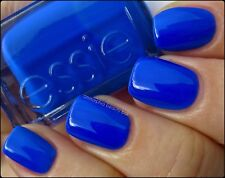BLACK LIGHT!! Essie Nail Polish *BOUNCER, IT'S ME* New NEON ROYAL BLUE Full Size