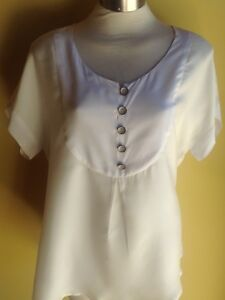 Madeleine Charles Grier Shirt Size 7 NWT RRP $240.00