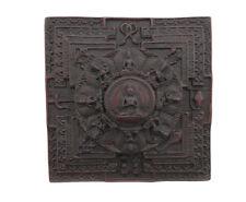 Mandala Tibetan Of Dhyani Buddhas. Lucky + Laughing Buddha (Wisdom Meditation