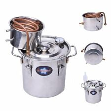 Seeutek 3 Gallon 12L Copper Tube Moonshine Still Spirits Kit New in Open Box