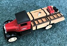 ERTL 1931 Hawkeye Flatbed Lumber Load Bank  True Value NIB 1997