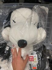 KAWS x Peanuts x Uniqlo Snoopy Plush size Large (White)